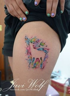 unique Watercolor tattoo - ... Check more at http://tattooviral.com/tattoo-designs/watercolor-tattoos/watercolor-tattoo-72/