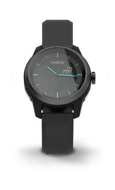 COOKOO Store - ConnecteDevice Ltd - COOKOO watch - Black, $129.99 (http://www.connectedevice.com/cookoo-watch-black/)