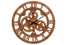 One Kings Lane - Memorial Day Blowout Sale - Exposed Wall Clock