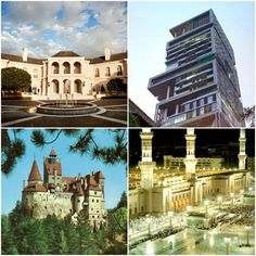 Per the blog:  25 of the most expensive houses in the world.  WOW!!!    Could YOU live in any of them, if you you were able to?  For me>no ;)