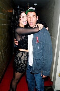 Pin for Later: All the Times Sandra Bullock Lit Up a Room  Adam Sandler kept Sandra cracking up backstage at the MTV's September 1994 Video Music Awards held in NYC.