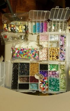 1000+ Assorted Beads and Findings #Assorted
