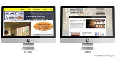 Web Design Before and After Makeovers | Mod Girl Marketing http://www.modgirlmarketing.com/web-design-before-and-after-makeovers/