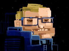 Stephen Hawking by Boris Toledo Doorm