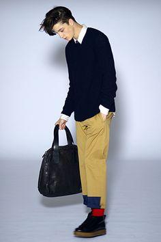 cool style dress fashion: Marni Fall Winter 2o10 Menswear