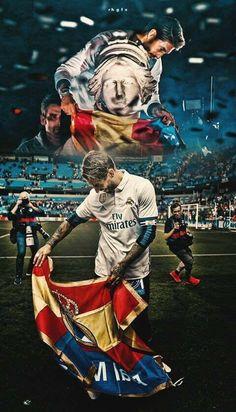 Ramos Real Madrid, Real Madrid Logo, Real Madrid Team, Real Madrid Football Club, Real Madrid Players, Fifa Football, Best Football Team, Football Players, Real Mardid