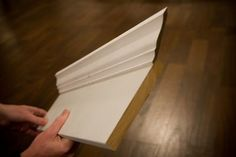 crown molding how to - Guest Post by Mr. Lettered Cottage   The Lettered Cottage