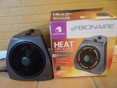 HEATER. MEDIUM ROOM. CIRCULATOR WITH ROTATING GRILL. BIONAIRE. NEW IN BOX #Bionaire