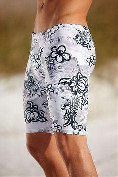 Tahiti Compression Swim Shorts   Hapari Swimwear