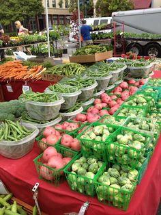 Thursday is #marketday @ Bellevue Farmers Market in Washington 3 - 7pm http://www.farmersmarketonline.com/fm/BellevueFarmersMarket.html