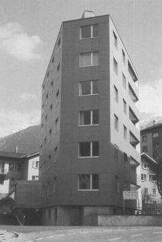 Peter Märkli - Wohnhaus, Brig 1995