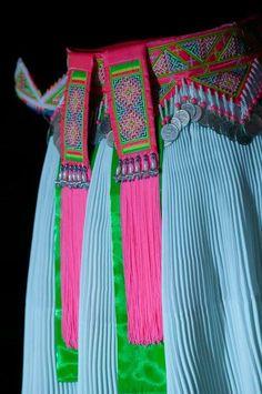 hlab sev (Hmong sash)