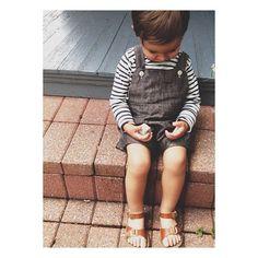 MABO KIDS tee with handmade linen playsuit by Joya Logue | Instagram photo by @Joya Logue (joya) | Statigram