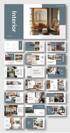 Web Design, Social Design, Layout Design, Mise En Page Portfolio, Portfolio Design, Architecture Portfolio Layout, Powerpoint Design Templates, Presentation Templates, Interior Design Presentation