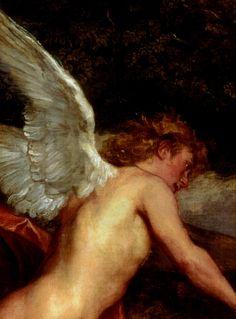 1640  Antoine van Dyck Cupidon et Psyché, détail Angels Among Us, Angels And Demons, Male Angels, Anthony Van Dyck, Angels In Heaven, Tumblr, Angel Art, Sacred Art, Greek Mythology