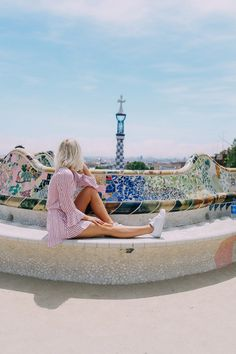 Today I am sharing some more photos from Barcelona! We visited Park Guell and had the yummiest lunch at a place called Brunch & Cake.