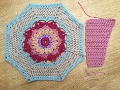 """PART 1 [a different variation (of color)]♡ Carousel Blanket CAL  2016 (Sept. 13 - Nov. 15) - Created By Sue Pinner - Free Crochet Pattern - In US & UK Terms, and also in German and Dutch. PATTERN Available on Stylecraft Yarn's CAL Page. You may use the Designer's colors or your own. ***Make sure to join the Facebook Group """"Official Stylecraft Sue Pinner CAL"""" (link on the Ravelry page also) for help, ideas, support, so much more!! ... it's a great Group with wonderful people!!!"""