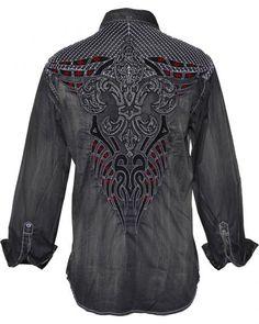 Roar Men's Rampage Long Sleeve Shirt