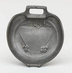 Jugendstil-Anbietschale/Art Nouveau Tin Serving Bowl,