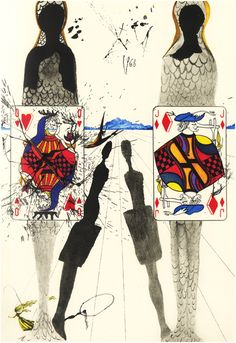 Alice in Wonderland via Salvador Dali