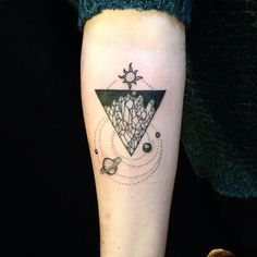 Tattoo-Journal.com - THE NEW WAY TO  DESIGN YOUR BODY | 40 Unique Triangle Tattoo Meaning and Designs – Sacred Geometry | http://tattoo-journal.com