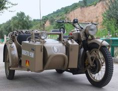 Yural Motorbike with sidecar - the definitive BOV (bug out vehicle)