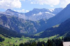 One of my favorite places on this earth. The pristine and quiet valley of Adelboden in the Jungfrau Region.