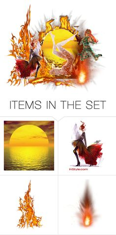 """the dance of fire"" by angelicamarcella ❤ liked on Polyvore featuring art"