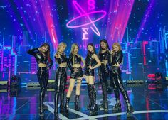 everglow / ot6 Kpop Girl Groups, Korean Girl Groups, Kpop Girls, K Pop, Bts Jungkook, Nct, Lisa, Fandom, Yuehua Entertainment