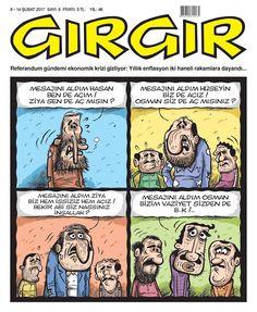 Haftalık süreli yayınlanan mizah dergisi kapakları ve karikatürler yayınlayan blog sitesi.