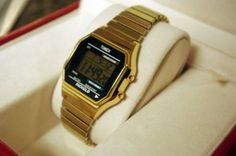 Timex Classic Digital Gold Watch