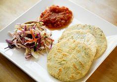 El Salvador recipe for pupusas. I love these