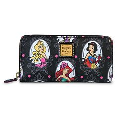 Dooney & Bourke Disney Princess wallet!! Love! Aurora, Ariel and snow white! Need!