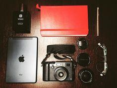accessories #accessories #fujifilm #fuji #fujifilmx100t #x100t #wclx100 #ipadmini #apple #womo #moleskine #gianmarco_ #bullfrog @womo_store @fujifilmitalia @fujifilm_xseries #fujilovers #instagram by gianmarco_._