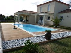1000 images about bois et piscine on pinterest piscine for Agencement piscine