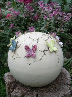 Gartenkugel Butterfly
