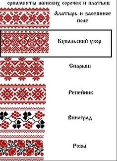 Изображение. Russian embroidery?! Russian Embroidery, Folk Embroidery, Beaded Embroidery, Cross Stitch Embroidery, Embroidery Patterns, Cross Stitch Borders, Cross Stitch Designs, Cross Stitching, Cross Stitch Patterns