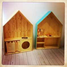 Casitas tematicas para Happy Milk Barcelona Happymilk shop, calle Casp 46, Barcelona, our House-desk for kids is available for sale.