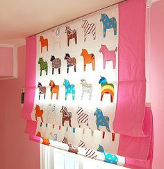 Kids Room Blinds : Custom Made, Kids Room, Roman Shade Blind (2 colors) Made to Order on ...