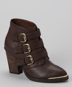 Take a look at this Brown Julianna Boot by Yellow Box Shoes on #zulily today! $40 !!