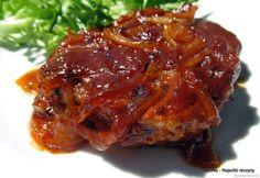 Nejedlé recepty: Vepřové plátky pečené v marinádě Lasagna, Food And Drink, Beef, Cooking, Health, Ethnic Recipes, Meat, Kitchen, Health Care