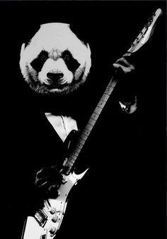 ☆ Rock Panda.。Art By :→: RUSS ☆