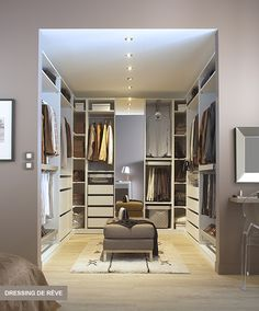 salle de bain et dressing pour suite parentale sous comble. Black Bedroom Furniture Sets. Home Design Ideas