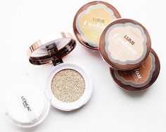 A good #taptap is all it takes for that flawless skin  featuring our new line of Lumi Cushion foundation #lorealmakeup by lorealmakeup