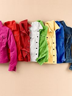 Talbots - Colored Denim Jacket   Jackets   Misses Discover your new look at Talbots. Shop our Colored Denim Jacket for stylish clothing and accessories with a modern twist at Talbots