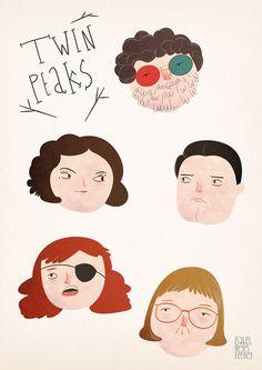 Twin Peaks by Isabel Reyes Feeney.