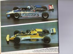5 - Nahori Fujita - March 822 BMW/Ogawa - Speed Star Wheel Racing Team - 20 - Tsunehisa Asai - Maurer MM81 BMW/Toda - Team Equipe - Suzuka - 1982