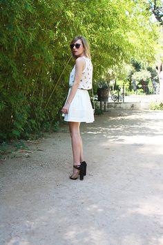 080 Barcelona, Barcelona Fashion, White Dress, Dresses, Style, Vestidos, Swag, White Dress Outfit, Stylus