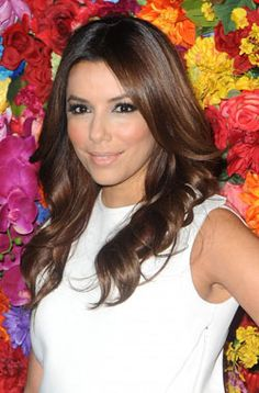 Wavy Hair How To - Get soft waves like Eva Longoria. Visit Lashings Extensions for lusciously long hair and styling - http://facebook.com/lashingsextensions  #hair #beauty #waves #curls #howto #tips