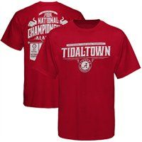Alabama's four National Championships in one season is no easy feat! Let's hear it for football, softball, gymnastics and women's golf for being the best in the land in 2012! Roll Tide! #UltimateTailgate #Fanatics
